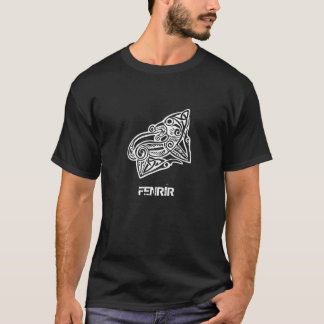 Fenrir Wolf - Viking Mythology - Old Norse T-Shirt