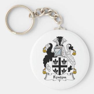 Fenton Family Crest Key Ring