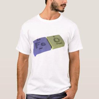 FeO-Fe-O-Iron-Oxygen-Rust.png T-Shirt