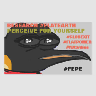 """FEPE (Alt.) """"PERCEIVE FOR YOURSELF"""" STICKER"""