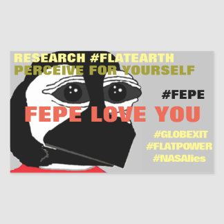 """FEPE LOVE YOU"" (YOUTH) STICKER"