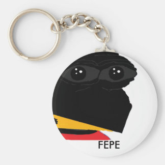 "FEPE ""Tip of The Beak"" Key Ring"