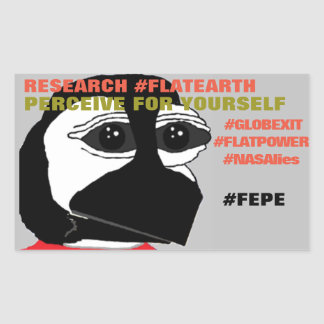 "FEPE (YOUTH) ""PERCEIVE FOR YOURSELF"" STICKER"