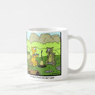 Feral Cat Coffee Mug