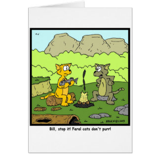 Feral Cats Card