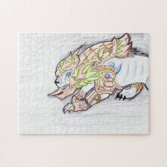 Feral Druid Incarnation Jigsaw Puzzle