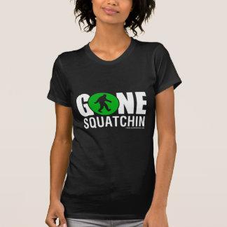 Feral Gear Designs - Gone Squatchin Green White T-Shirt