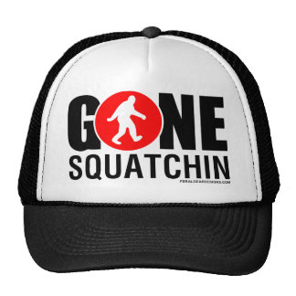 Feral Gear Designs - Gone Squatchin Red Black Cap