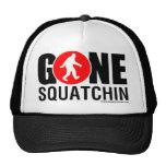 Feral Gear Designs - Gone Squatchin Red Black Hats
