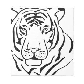 Feral Tiger Drawing Notepad