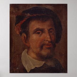 Ferdinand Columbus Poster