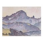 Ferdinand Hodler- From Le Grand Muveran Villars Postcard