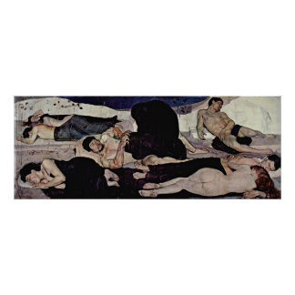 Ferdinand Hodler - Night Poster