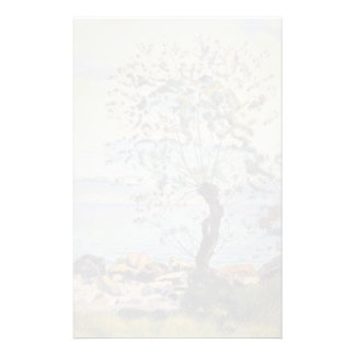 Ferdinand Hodler- Willow tree by the lake Stationery