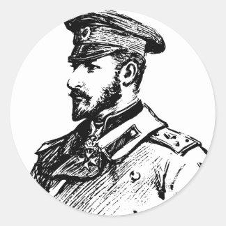 Ferdinand I of Bulgaria Classic Round Sticker
