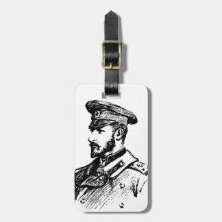 Ferdinand I of Bulgaria Luggage Tag