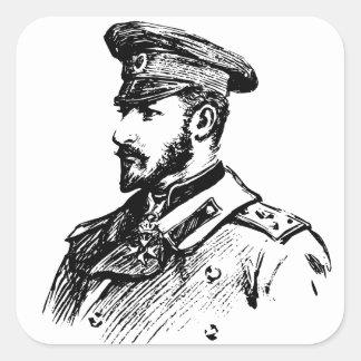 Ferdinand I of Bulgaria Square Sticker