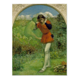 Ferdinand Lured by Ariel Millais Fine Art Poster