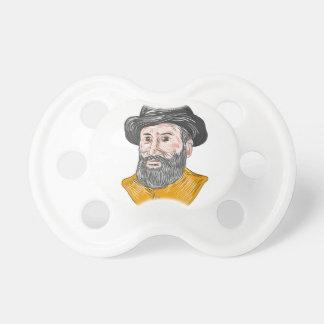 Ferdinand Magellan Bust Drawing Dummy