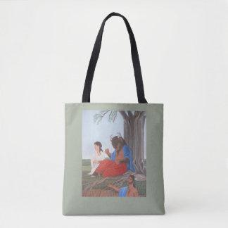 Ferdinand the Minotaur tote bag