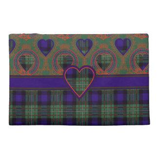 Ferguson clan Plaid Scottish tartan Travel Accessory Bag