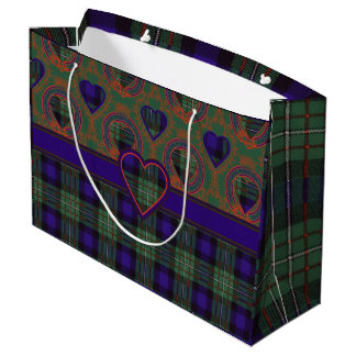 Ferguson clan Plaid Scottish tartan Large Gift Bag