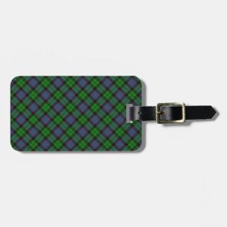 Ferguson Scottish Clan Tartan Design Luggage Tag