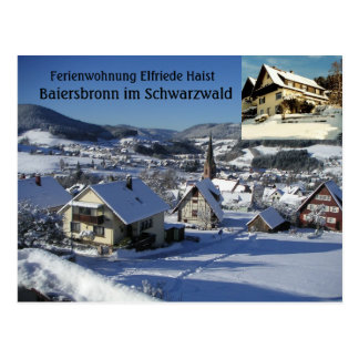 Ferienwohnung Elfriede Haist - Snow Postcard