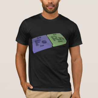 Fern as Iron Fe and Radon Rn T-Shirt