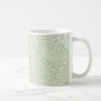 Fern Batik Paisley Coffee Mug