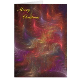 Fern Blur #2 Christmas card