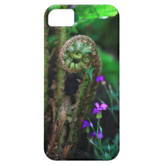 Fern & flowers iPhone 5 cover