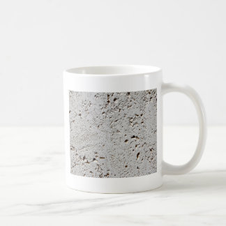 Fern Fossil Tile Surface Closeup Coffee Mug
