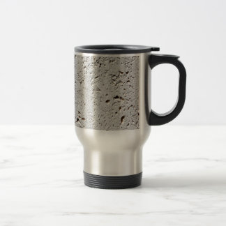 Fern Fossil Tile Surface Closeup Travel Mug