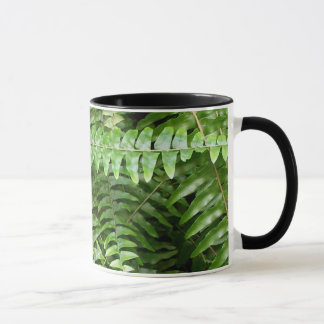 Fern Fronds I Green Nature Mug