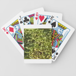 Fern Green Abstract Low Polygon Background Bicycle Playing Cards