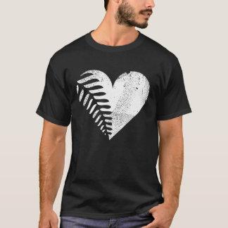 Fern Heart Dark T-shirt 2