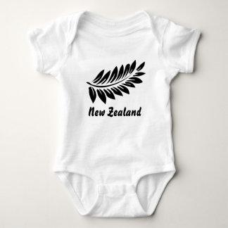 Fern leaf baby bodysuit