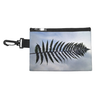 Fern leaf isolated against the sky accessories bag