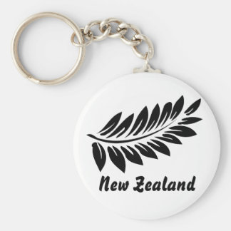 Fern leaf key ring