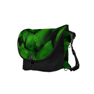 Fern Leaf Messenger Bag
