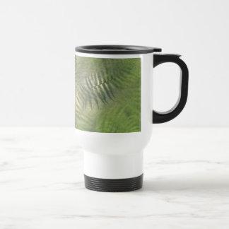 Fern Leaf Nature Outdoors Pattern Green Mugs