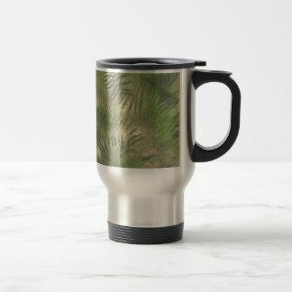 Fern Leaf Nature Outdoors Pattern Green Coffee Mug
