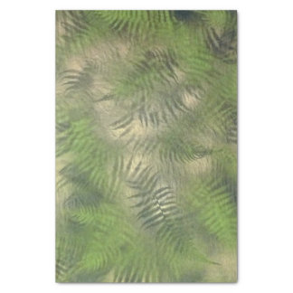 Fern Leaf Nature Pattern Cool Tissue Paper