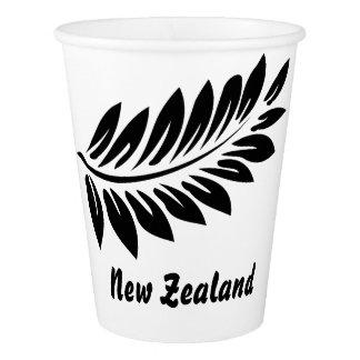 Fern leaf paper cup