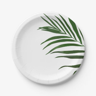 Fern Leaf Paper Plates 7 Inch Paper Plate
