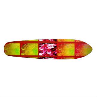 Fern Leaf Series ( Red Green Yellow ) Skateboard