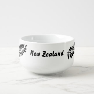 Fern leaf soup mug