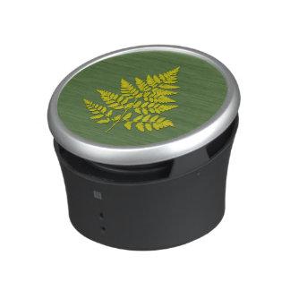 Fern leaf speaker