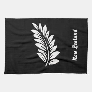 Fern leaf tea towel